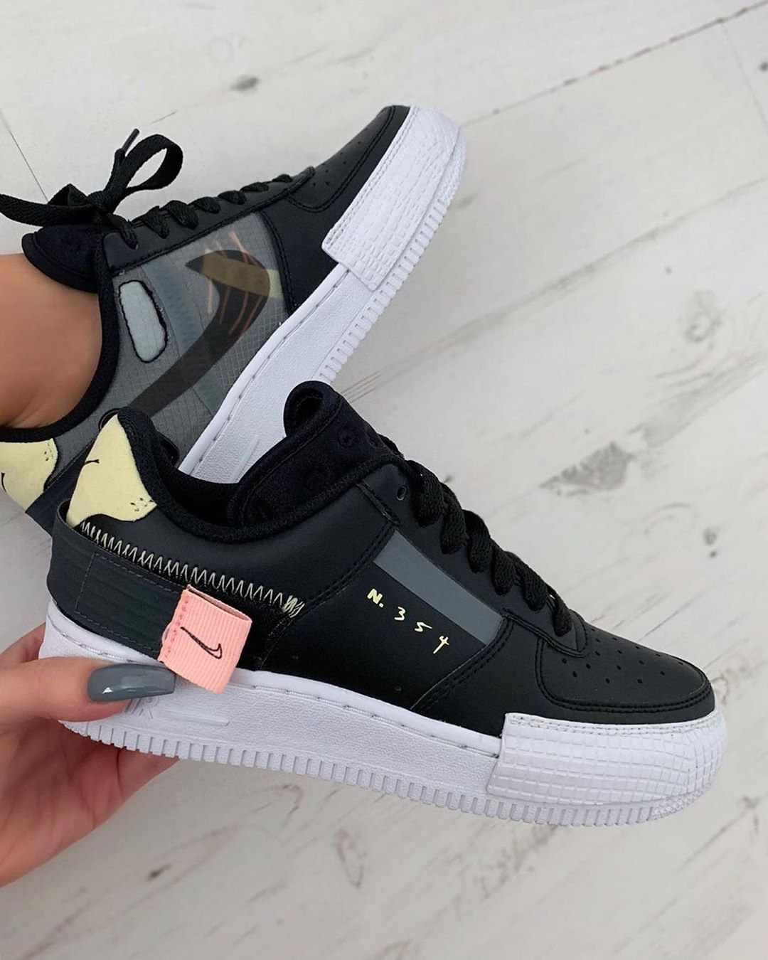 Nike Air Force 1 Type Link in organic, to shop currently