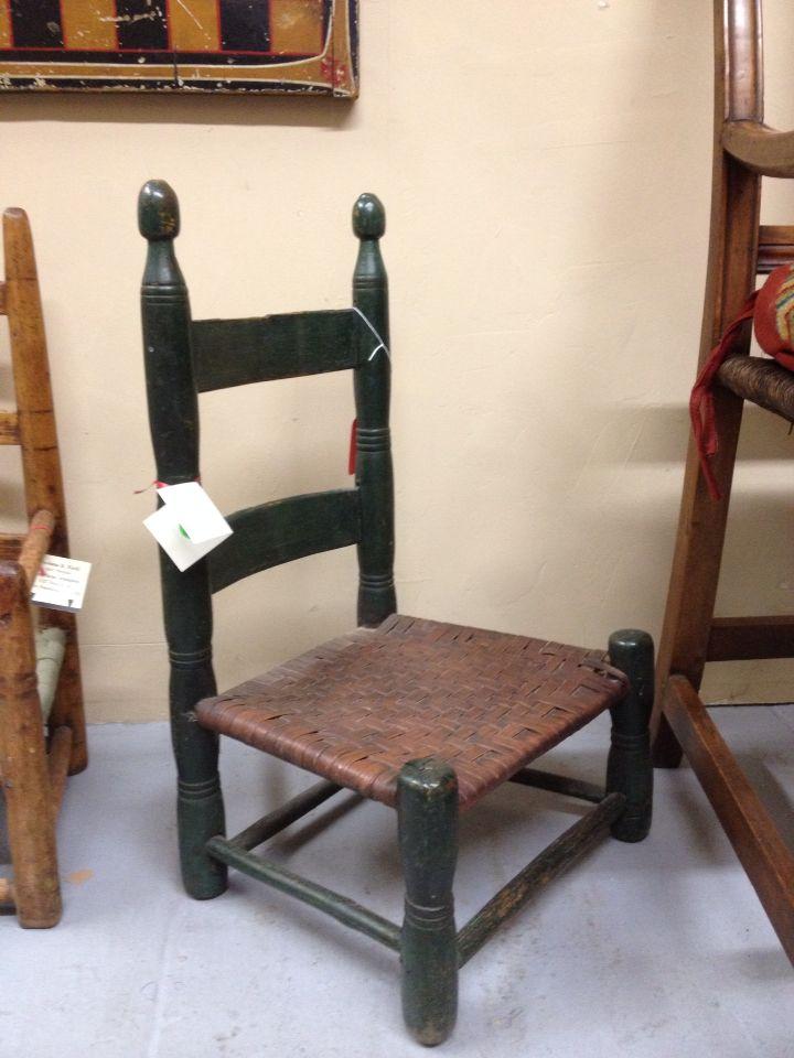 Child's chair, Johnson, Mecklenburg County, Virginia - Child's Chair, Johnson, Mecklenburg County, Virginia Virginia