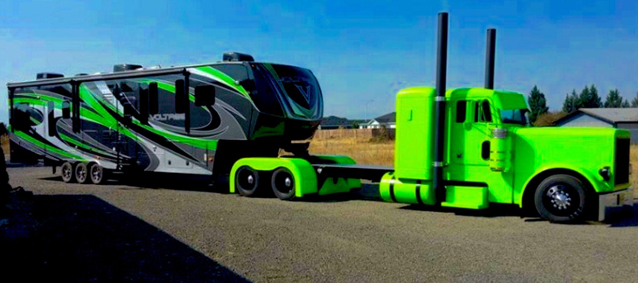 Classic Semi Truck Big Trucks Custom Big Rigs Big Rig Trucks