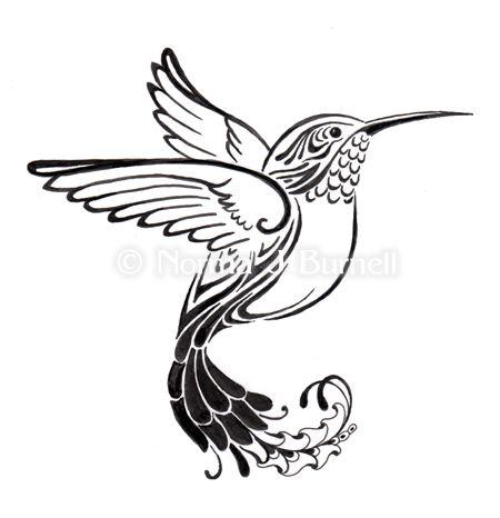 Fairy Tangles Fairy Tangles Hummingbird Tattoo Designs Hummingbird Tattoo Hummingbird Tattoo Black Hummingbird Art