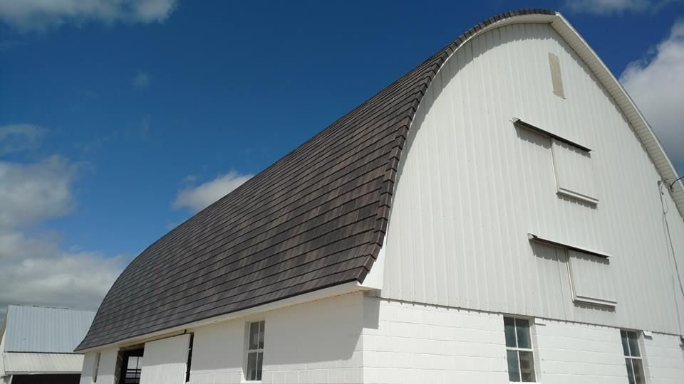 Steel roofs are great for homes . . . and they look ...