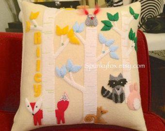Baby animal pillow
