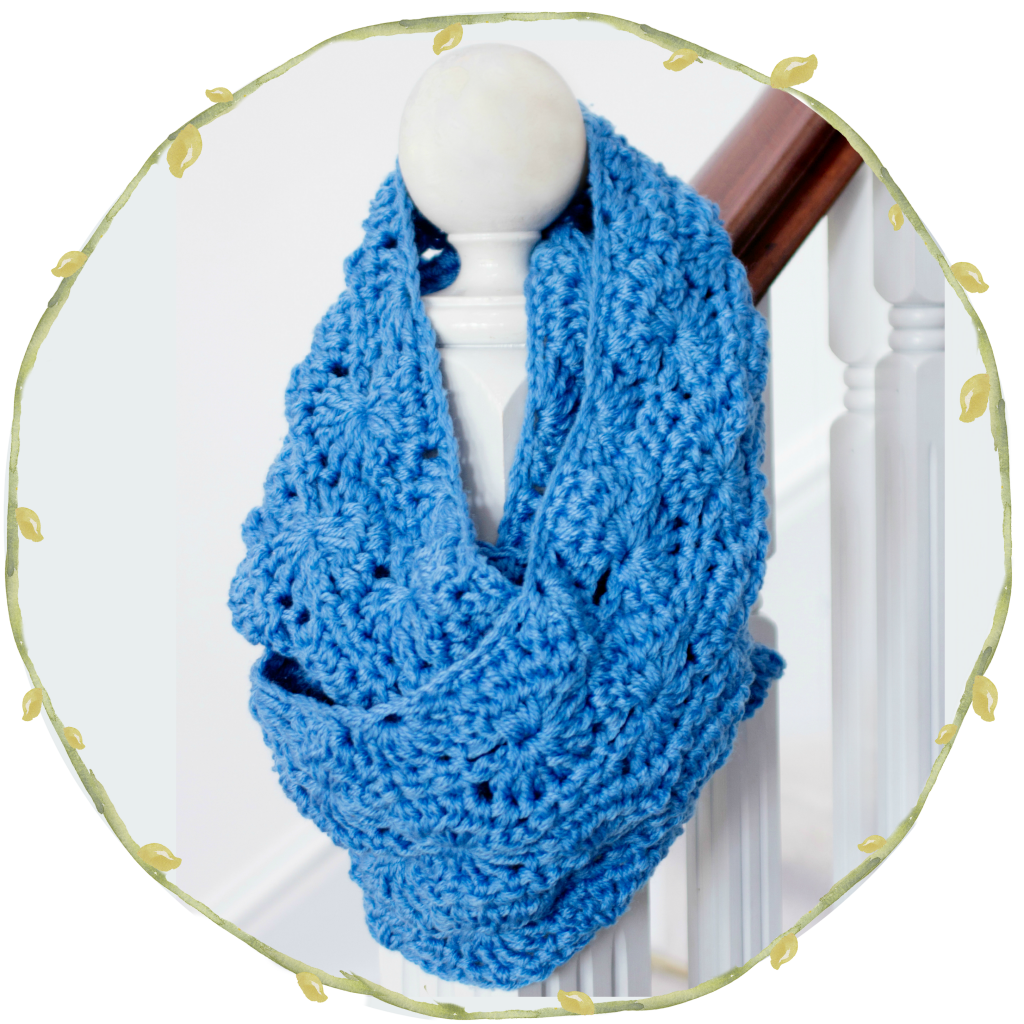Chunky Infinity Scarf - Free Crochet Pattern | Tücher, Schals und ...