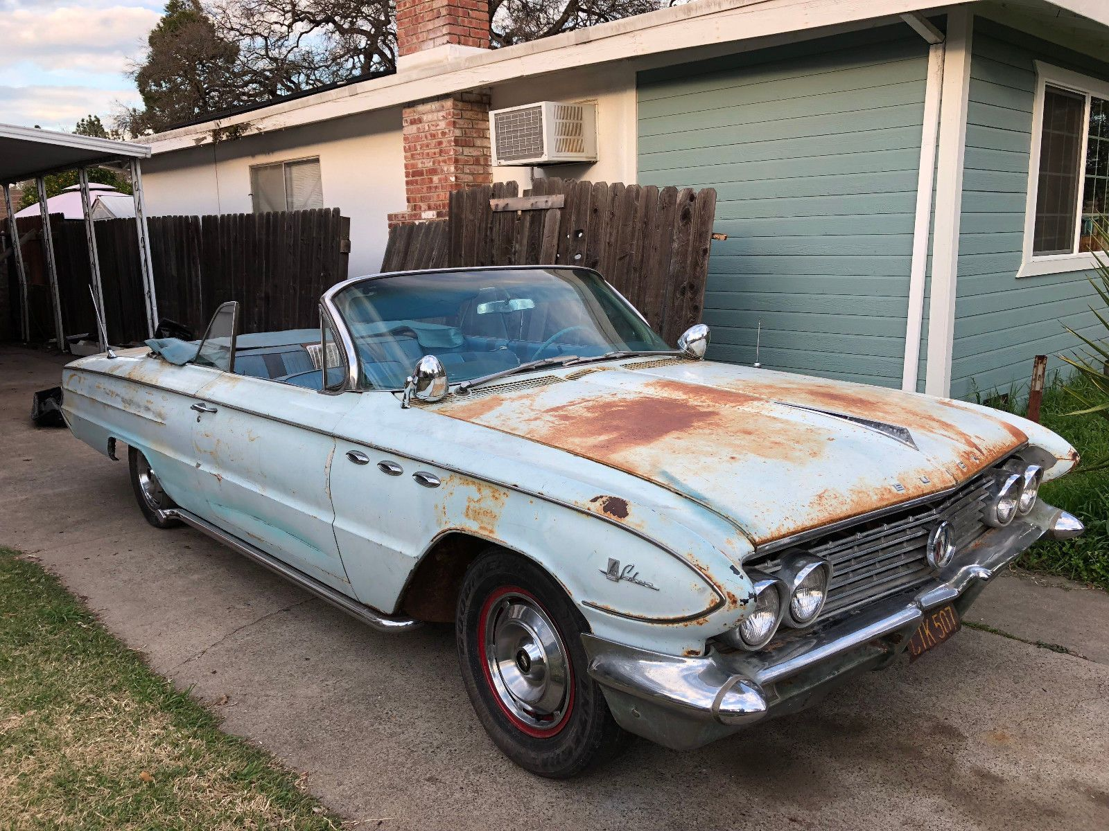 extra parts 1961 Buick LeSabre convertible project | Project cars ...