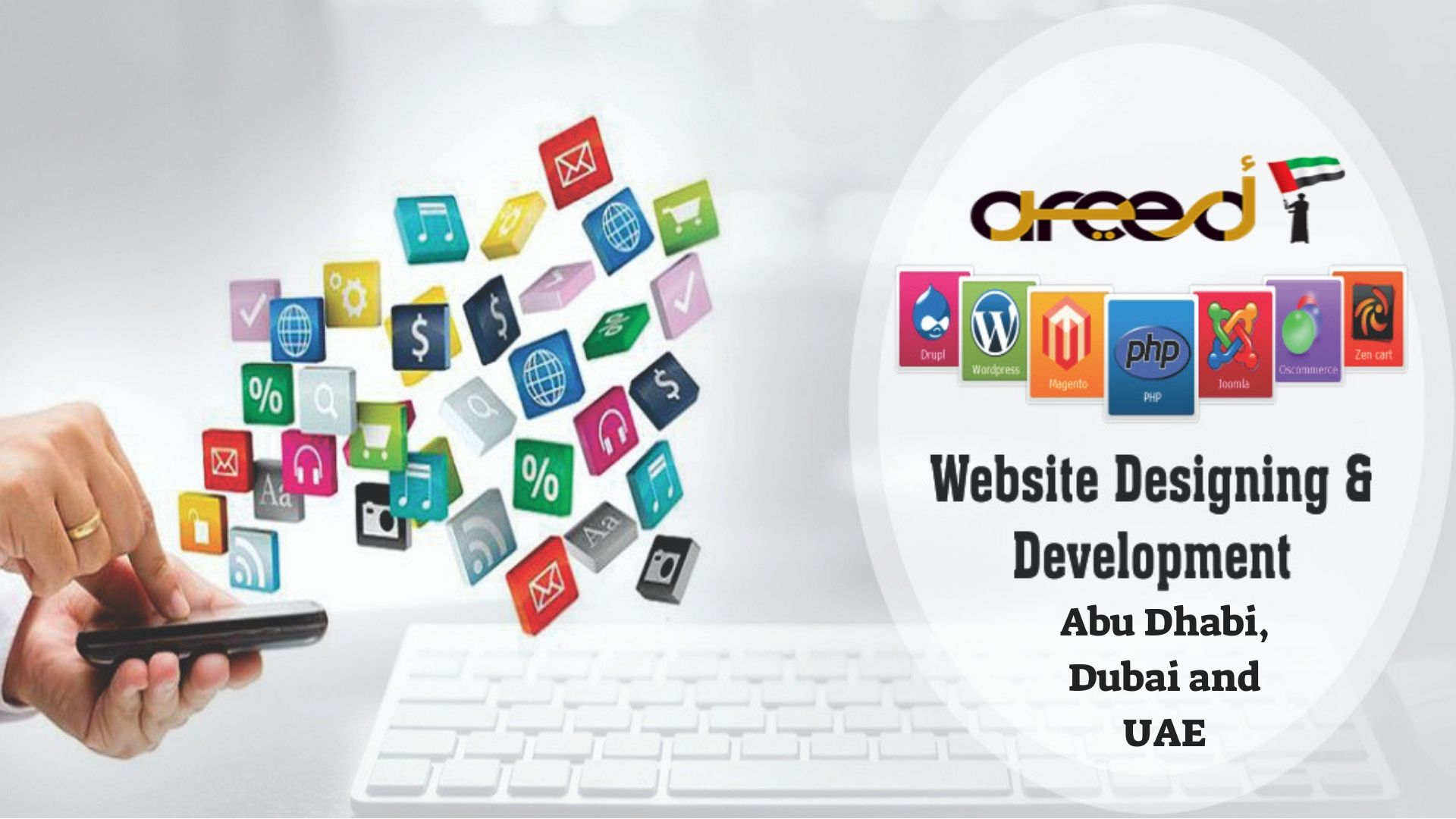 Top Web Design Company In Abu Dhabi Dubai And Uae Areed It Services Web Design Company Top Web Designs Website Design