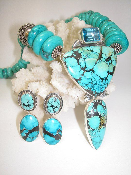 I love working with turquoise.