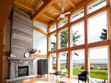 Wood Panel Fireplace Design Ideas, Pictures, Remodel And Decor