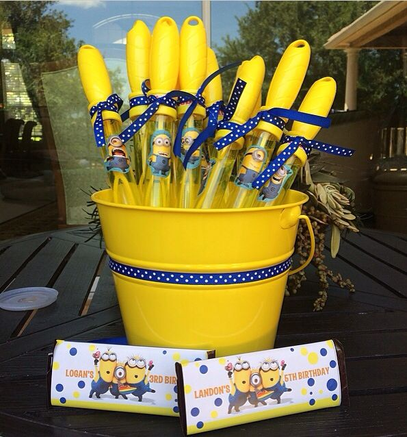 Minion Party Favors More