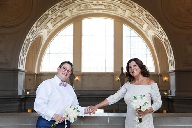 Francisco marriage same san sex
