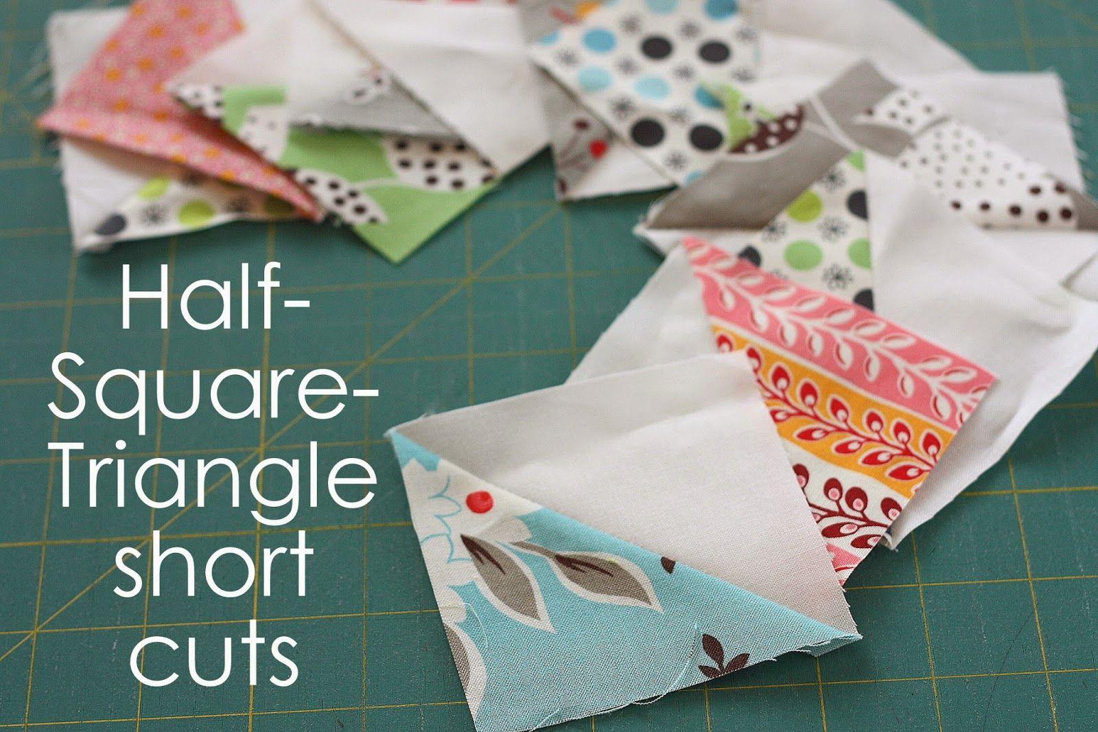 Quilt Block Construction Tips   Half square triangles, Triangles ... : quilting triangles tips - Adamdwight.com