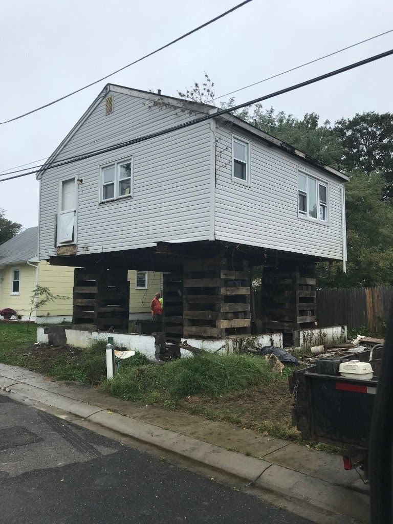 This home in Neptune was on a full basement and is now