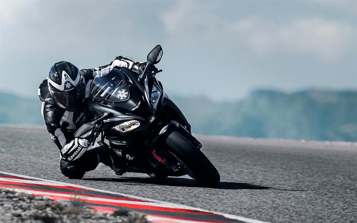 Download Wallpapers Kawasaki Ninja ZX-10RR, 4k, 2017 Bikes