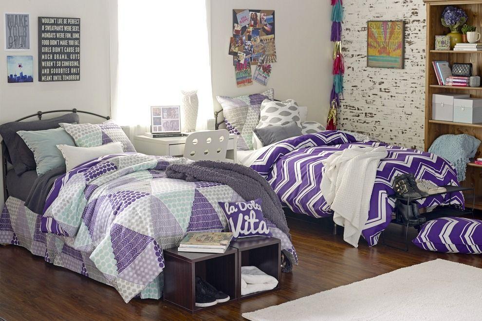 #purpledormrooms