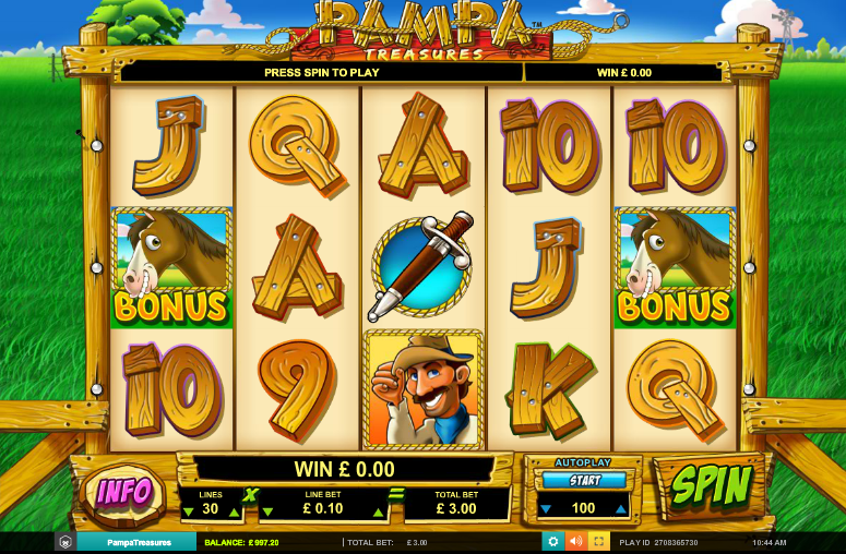 Spielautomat Pampa Treasures Kostenlos Online Jetzt