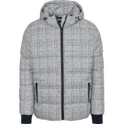 Photo of Urban Classics Hooded Check Winterjacke Urban Classics