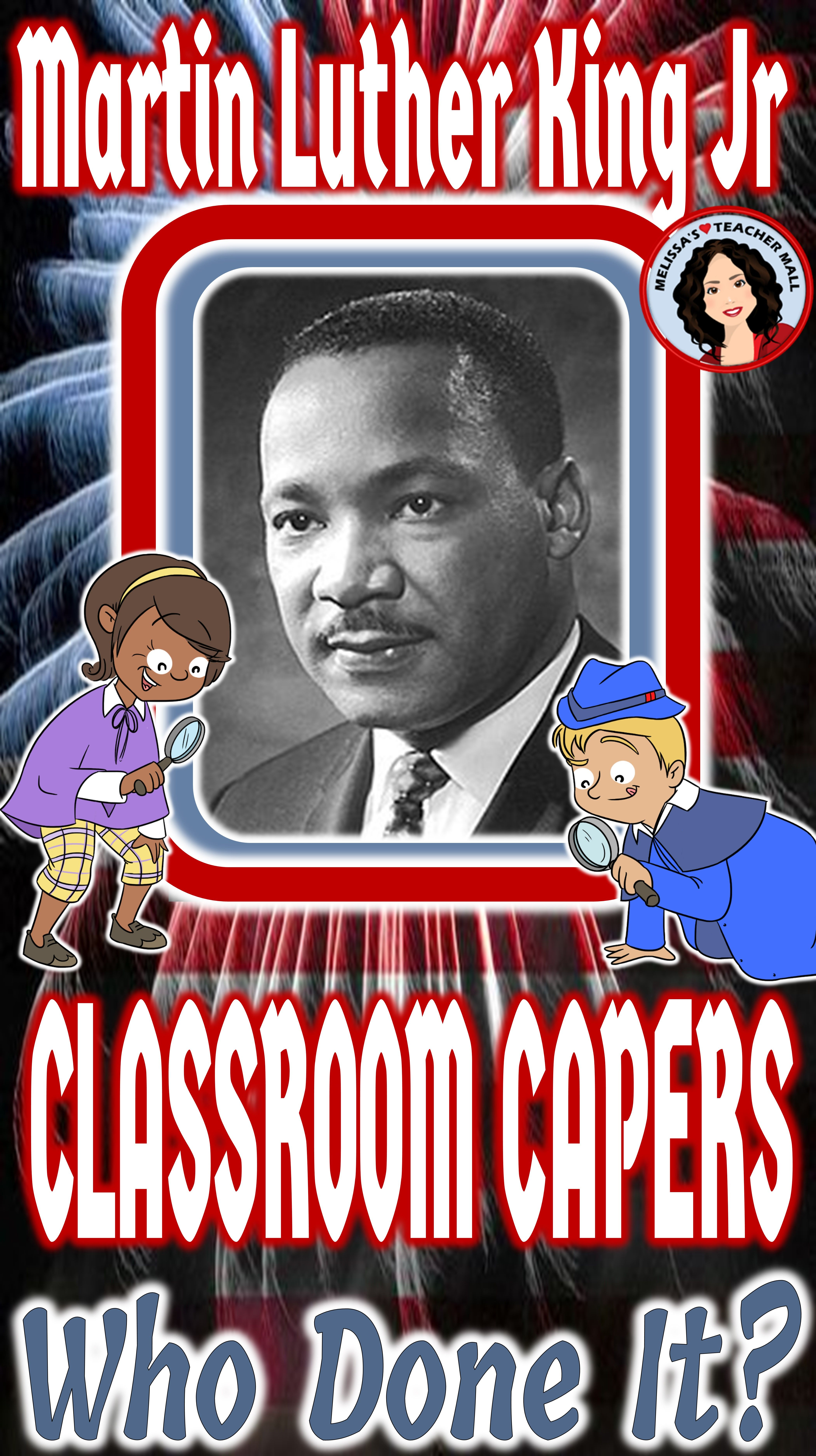 Black History Month Martin Luther King Jr Guess Who Game