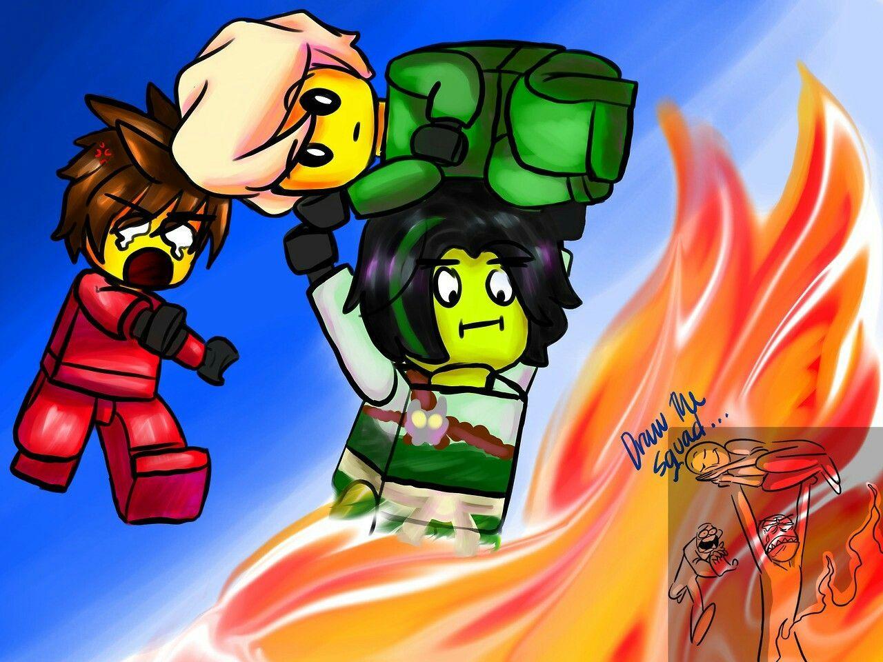 Kai lloyd and morro ninjago lego ninjago draw the squad ninjago memes draw - Ninjago lloyd and kai ...