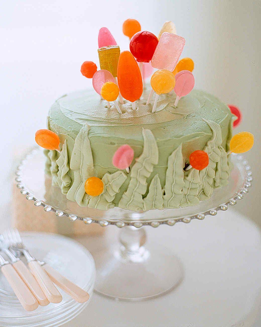 Brilliant Lollipop Garden Cake Recipe Cool Birthday Cakes Garden Cakes Funny Birthday Cards Online Fluifree Goldxyz