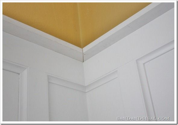 How To Install Board And Batten Sand And Sisal Cove Moulding Board And Batten Installing Wainscoting