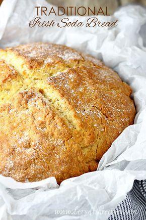 Traditional Irish Soda Bread Recipe Traditional Irish Soda Bread Irish Recipes Soda Bread