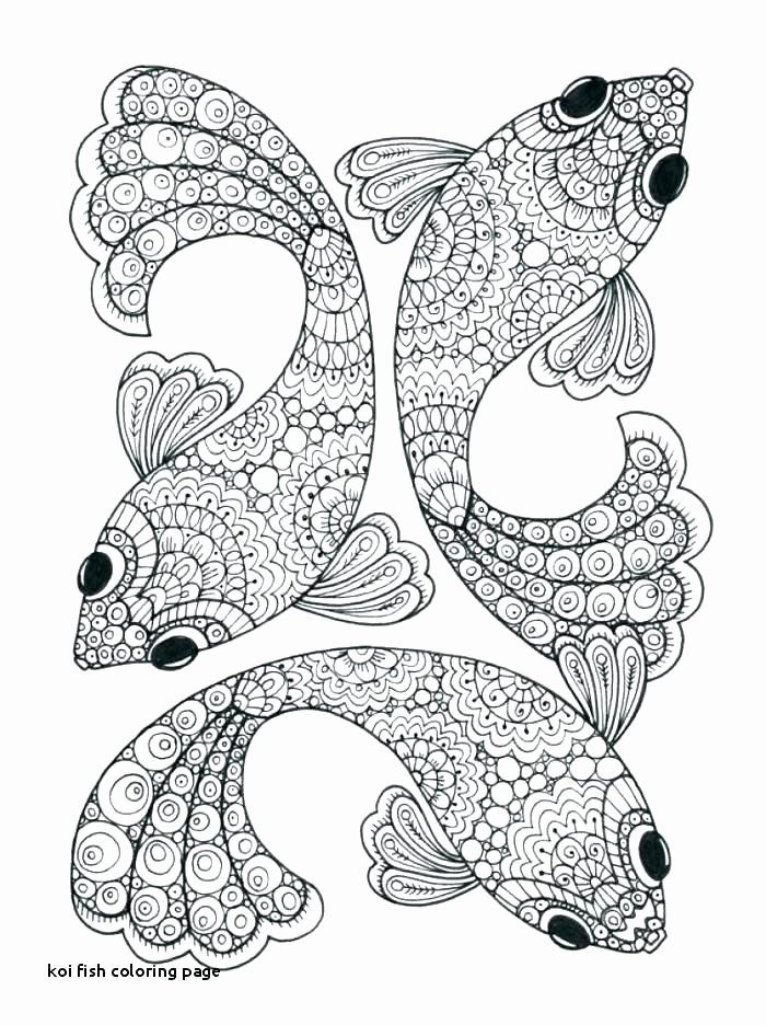 Koi Coloring Pages For Adults Luxury Koi Fish Outlines Fish Tattoo Stencils Koi Fish In 2020 Fish Coloring Page Mandala Coloring Pages Mandala Coloring