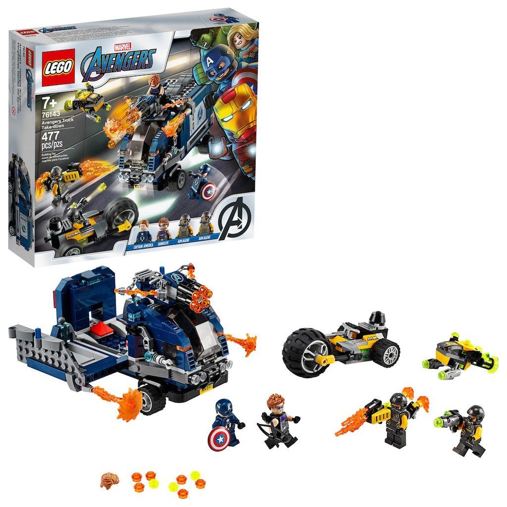 Incroyable  Mot-Clé LEGO Marvel Avengers Truck Take Down 76143 Building Kit