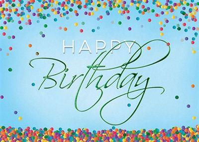 Confetti birthday cards send a birthday card to your client confetti birthday cards send a birthday card to your client corporate greeting cards wall street greetings corporate birthday greetings pinterest m4hsunfo