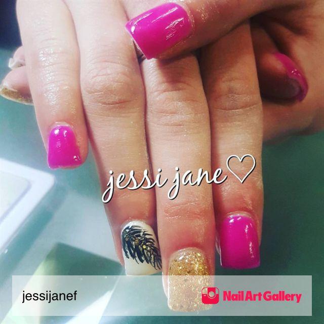 Jjf Nails by jessijanef via Nail Art Gallery #nailartgallery ...