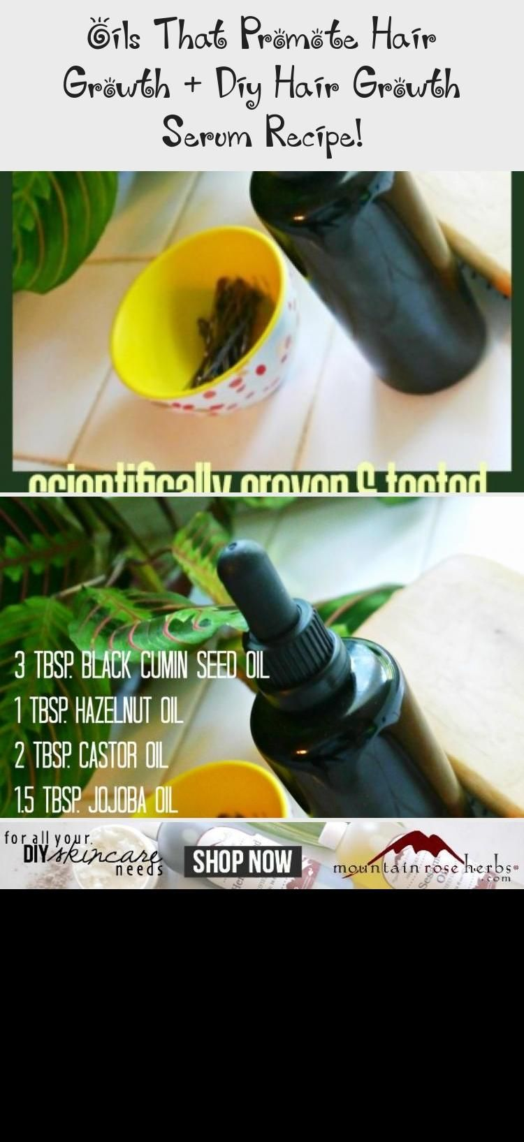 Oils that Promote Hair Growth + DIY Hair Growth Serum Recipe! - Jenni Raincloud #ManeNTailhairgrowth #hairgrowthInAWeek #Sulfur8hairgrowth #hairgrowthAfricanAmerican #hairgrowthAfterChemo #fasterhairgrowth