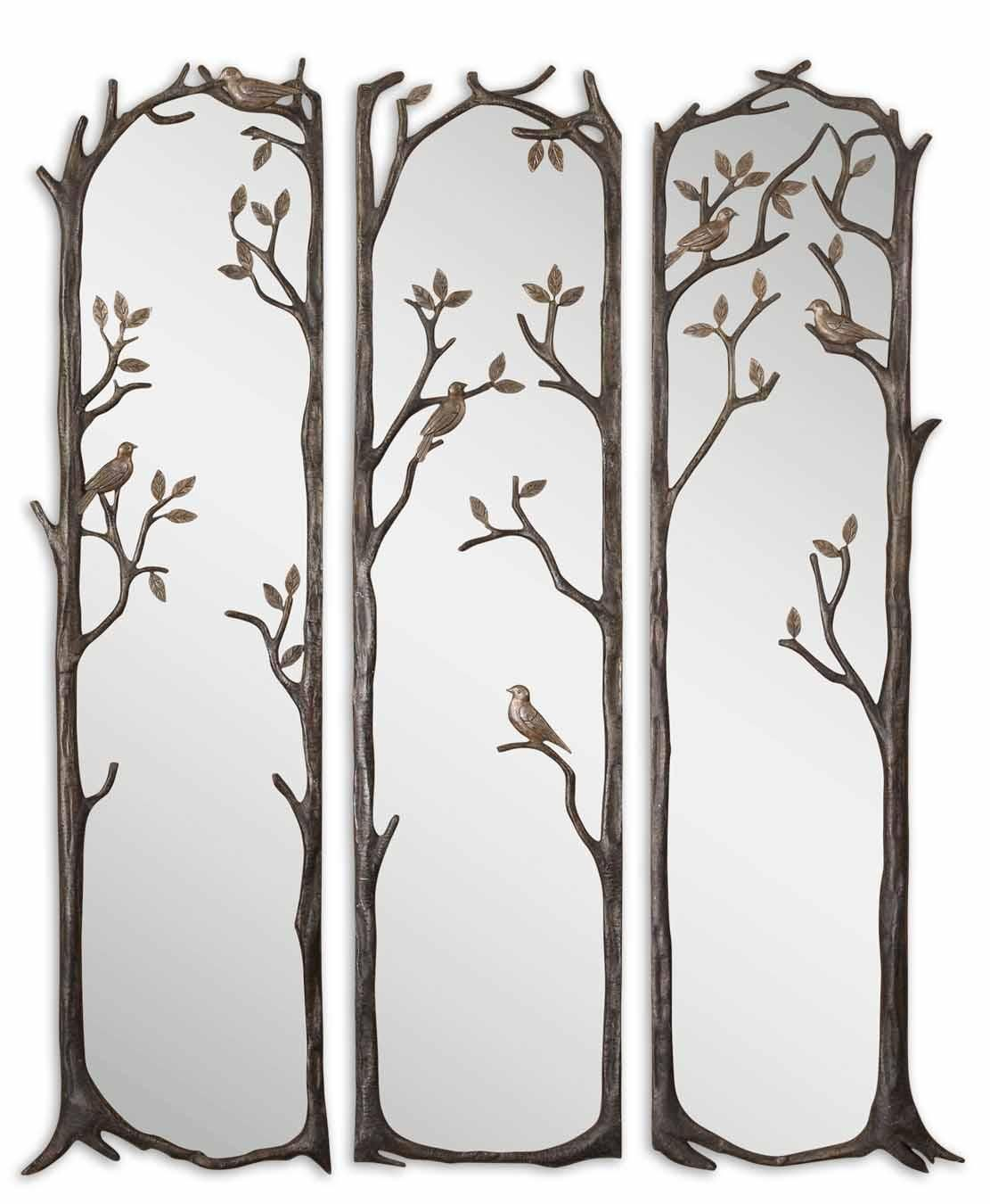 Mirrors perching birds set of by uttermost overall look pinterest