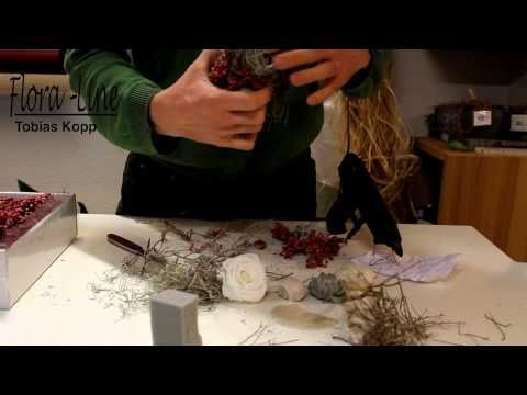 tutorial nat rliche osterdekoration selber machen youtube deko pinterest floral art. Black Bedroom Furniture Sets. Home Design Ideas