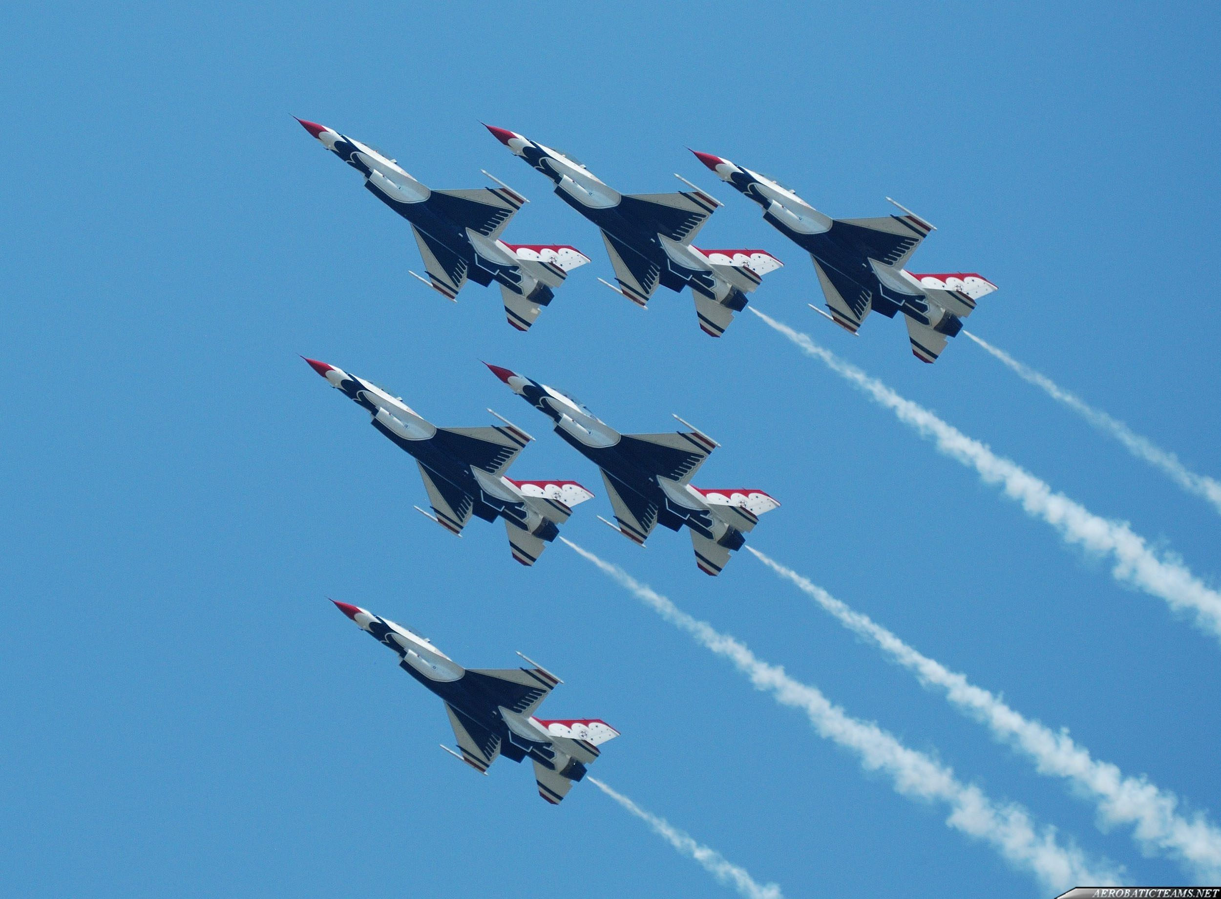 The US Air Force Thunderbirds will perform a flyover