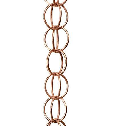 Copper Link Rain Chain