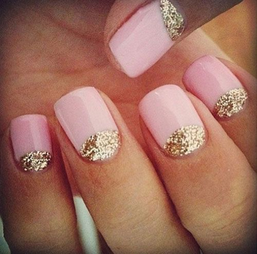 15 Best Short Acrylic Nail Art Designs Ideas For Girls 2013 12 500x496