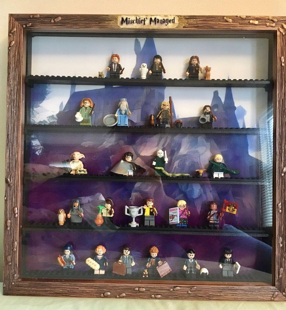 Minifiguras Vitrina Marco Lego Harry Potter fantástico bestias CMF Minifiguras