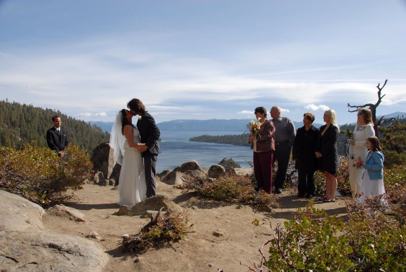 Emerald bay is one of the most photographed places in the