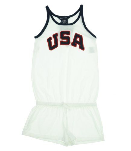 85% Off was $55.00, now is $8.14! Ralph Lauren Girl's 2012 Olympic Team USA Shortall