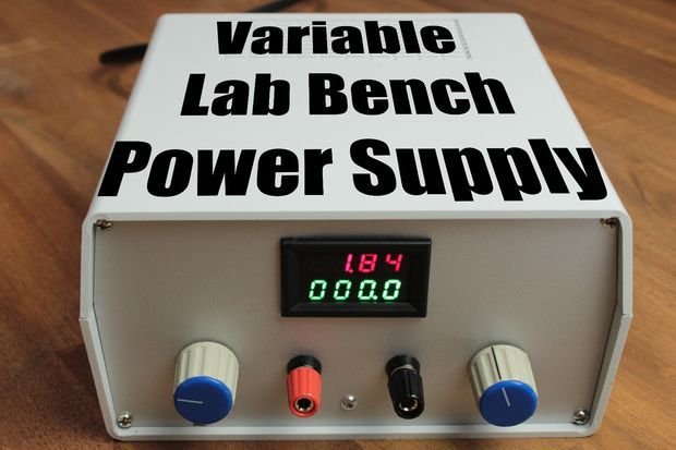 Build Your Own Variable Lab Bench Power Supply Electronics Projects Diy Power Supply Computer Power Supplies