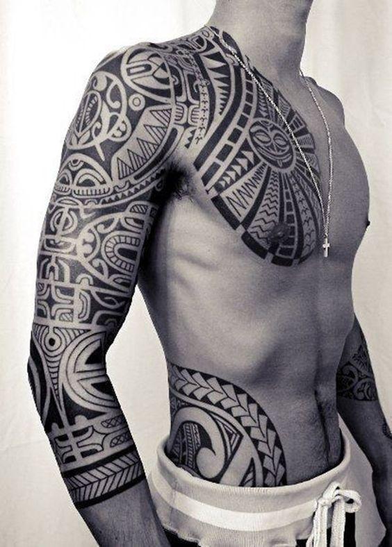 40 aussagekräftige Maori Tattoo Designs für Inspiration,  #aussagekräftige #Designs #für #Ins… #maoritattoos – maori tattoos