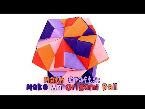 Photo of Math Crafts: Make an Origami Ball