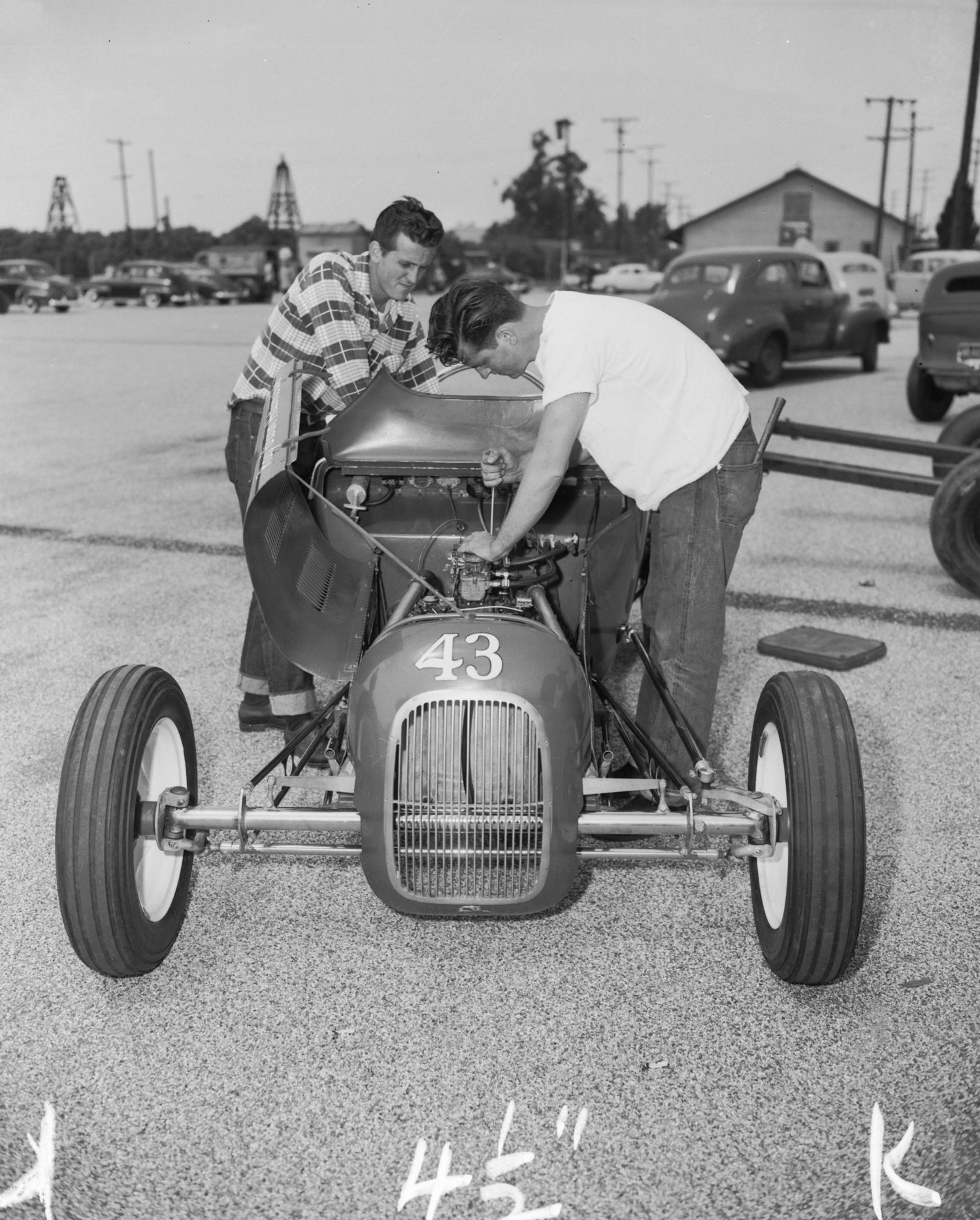 A Day At The Drags, Pomona, 1952