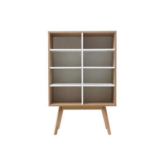 Bibliotheque Scandinave Chene Et Helia Meuble Rangement Miliboo Mobilier De Salon