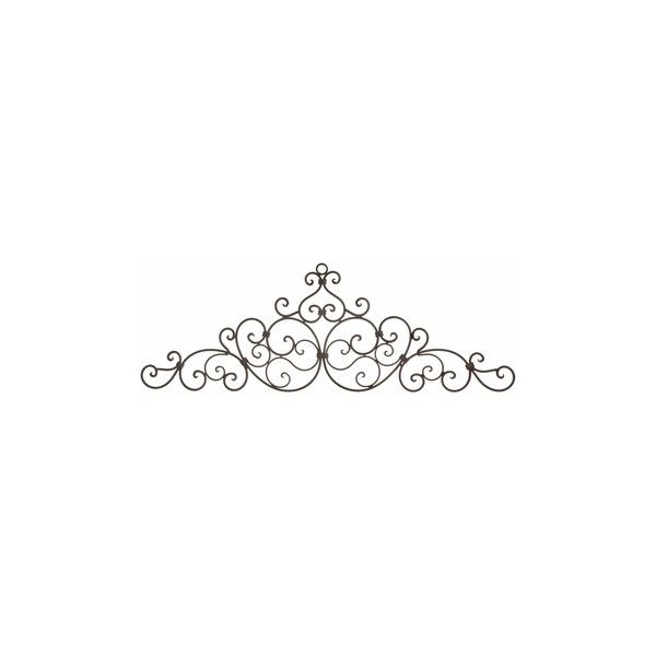 Incroyable Long Wall Decor   Wrought Iron Door Toppers   Metal Wall Hangings Found On  Polyvore