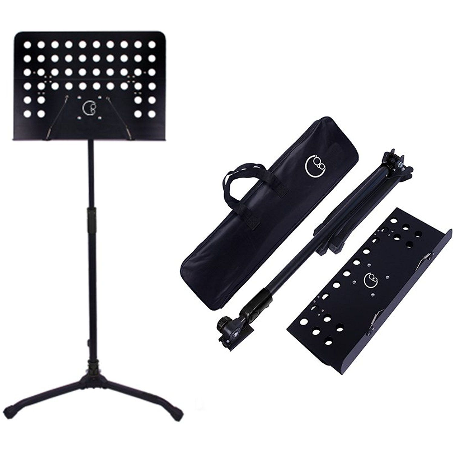 Z Style Adjustable and Portable Heavy Duty Music Stand for Kids and Adults Plixio Piano Keyboard Stand Fits 54-88 Key Electric Pianos