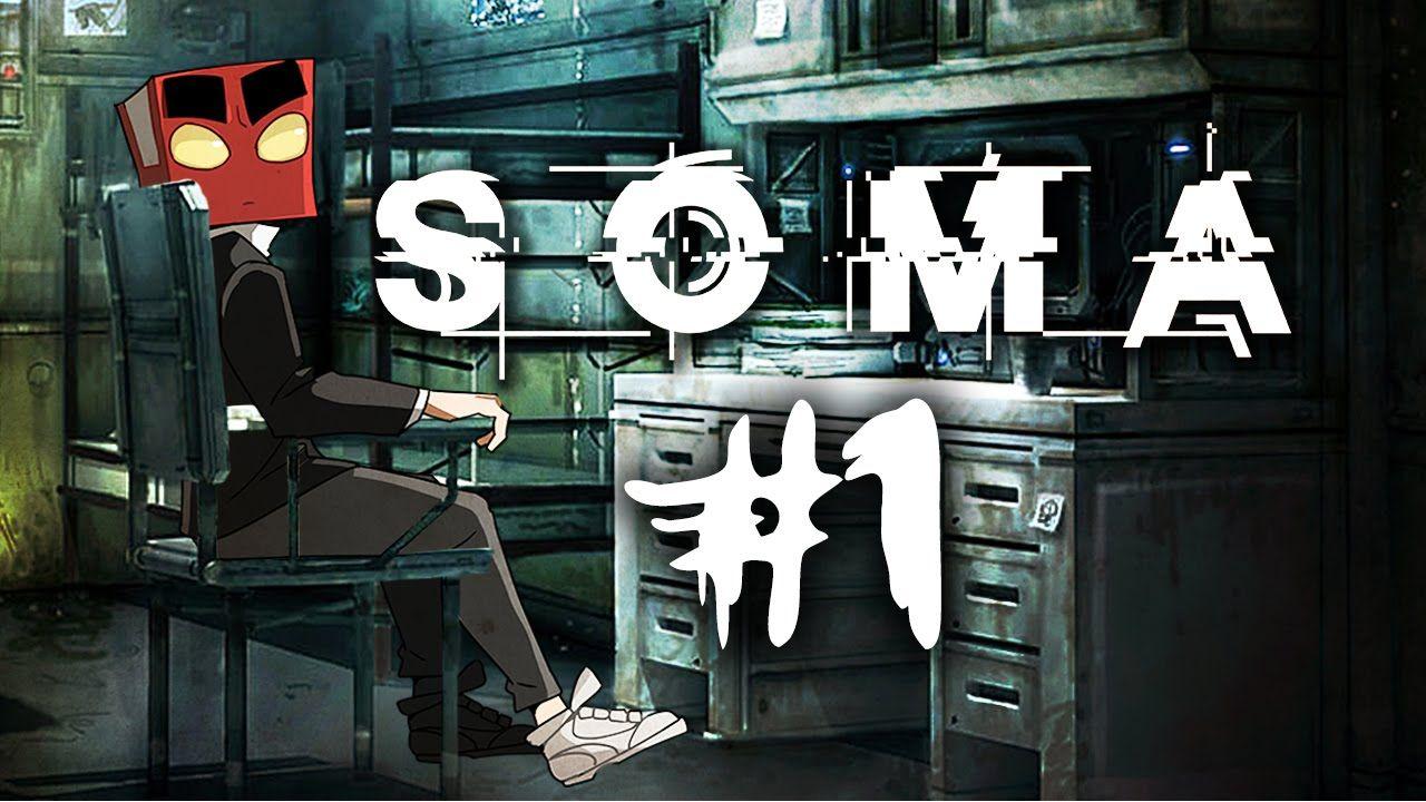 심해:호러게임 SOMA(소마) 1화 :암네시아 제작진의 신작호러게임[PC]-홍방장