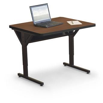 Height Adjustable Computer Table 02 58063