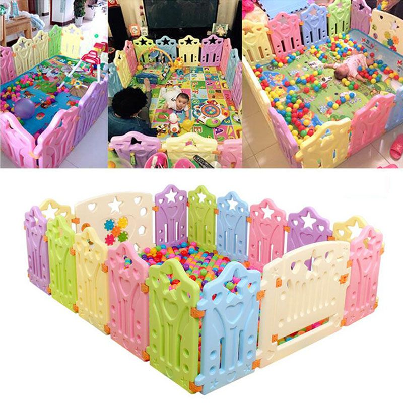 Fencing For Children Baby Playpens Indoor Outdoor Baby Game Playpen Eco Friendly Pe Playpen Fence Kids Act Educational Baby Toys Baby Playpen Toddler Play Yard