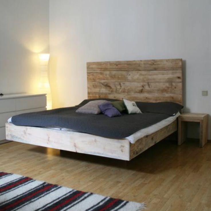 Schwebende Möbel Schwebendes bett, Bett und Doppelbett
