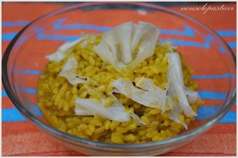Risotto integrale alla curcuma - Ricette di non solo pasticci