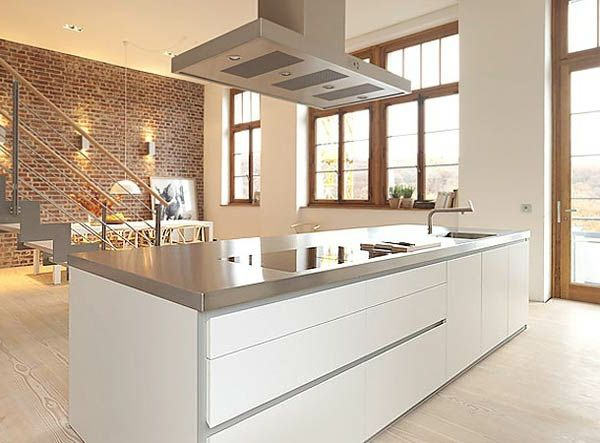 minimalistische küche geht in die geschichte ein! - küche, Wohnideen design
